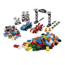 Lego Juniors Easy To Build Rally De Carros De Corrida 10673