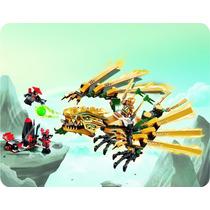Lego Ninjago The Golden Dragon 252 Peças 70503 Pronta Entreg