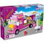 Brinquedo Blocos De Montar Banbao Caminhão De Sorvete 6117