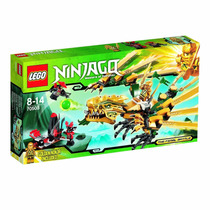 Lego Ninjago The Golden Dragon 252 Peças 70503 Pronta Entreg