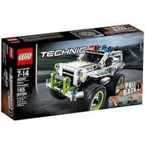 Lego Technic 42047 Police Interceptor Lancamento 185 Pçs