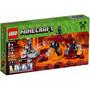 Lego Minecraft - The Wither - 21126 - Pronta Entrega 318 Pçs