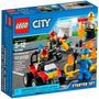 Lego City 60088 Conjunto De Iniciação Para Combate Ao Fogo