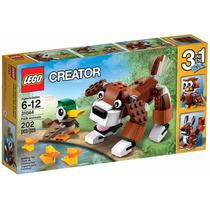 Lego Creator 31044 Animais 3 Em 1 Cachorro Esquilo E Coruja