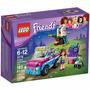 Brinquedo Montar Lego Friends Carro Exploração Olivia 41116
