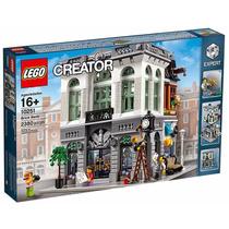 Lego 10251 Lego Creator Brick Bank Lançamento