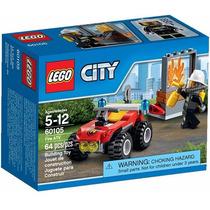 Lego 60105 City Veiculo Off-road De Combate Ao Fogo