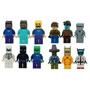 Minifigures Minecraft Kit Com 12 Steve Enderman Compat. Lego