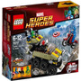Lego 76017 Capitão América Contra Hydra - Super Heroes Marve