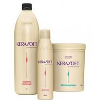 Kit Hidratação Profunda Kerasoft Profissional Itallian Color