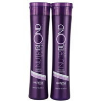 Shampoo Roxo - Honma Nutriblond Solution Kit Home