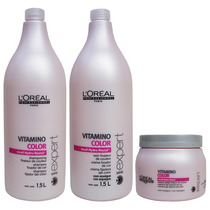 Loreal Profissional Kit Shamp 1,5 + Cond 1,5 + Másc. 500 G.