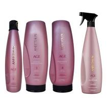 Aneethun Age System Kit Plástica Capilar (4 Produtos)