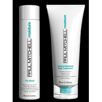 Kit Paul Mitchell Moisture The Wash Shampoo + Tratamento