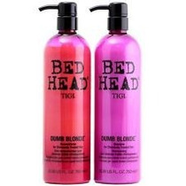 Tigi Bed Head Dumb Blonde Reconstructor - Kit 750ml Cada