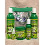 Kit Crece Pelo 5 Itens+ Sacola(shampoo+rinse+leave+masc+amp)