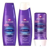 Kit Aussie Shampoo , Condicionador + Mascara 3 Minutos .