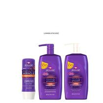 Shampoo+condicionador+máscara Aussie Smooth 865ml