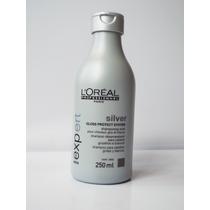 Shampoo Loreal Silver Desamarelador Cabelo Grisalhos Branco