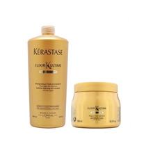 Kérastase - Elixir Ultime - Shamp 1 Lt + Másc 500g - S/juros