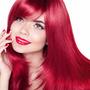 Kit Shampoo Condicionador Máscara Cabelo Vermelho Intenso