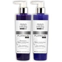 Shampoo E Máscara Anna Haven Platinum 250ml