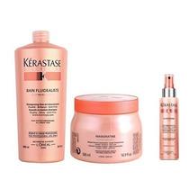 Kit Kérastase Discipline Shampoo 1l + Máscara 500g + Spray