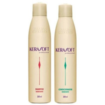 Itallian Hairtech Kerasoft Kit Manutenção 2 Produtos
