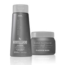 Platinium Kaedo Shampoo E Mascara Nano