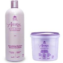 Kit Creme Alisante Relax Plus + Normalizing Shampoo - Av001