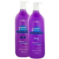 Mairibel Shampoo E Condic Hidratante Moist Aloe Vera 1000ml