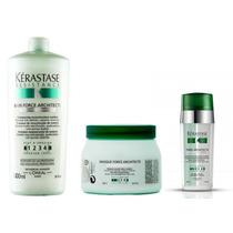 Kérastase - Resistance - Shampoo/máscara E Serum Fibre Archt