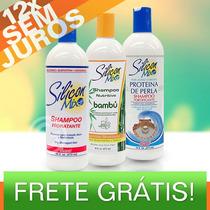 Silicon Mix - Shampoo 473ml - Hidratante / Bambú / Perla
