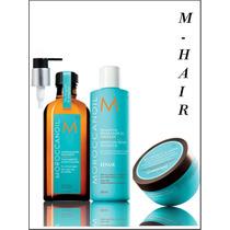 Tratamento Máscara + Óleo De Argan + Sh Repair Moroco Oil®