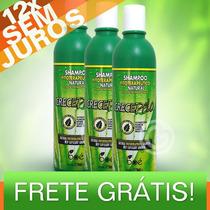 Shampoo Crece Pelo Boé 370ml - Crecepelo Natural + Frete!!!