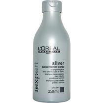 Shampoo Loreal Silver Desamarelador Cabelo Branco Grisalhos