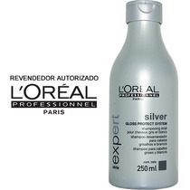Loreal Silver Shampoo Desamarelador Profissional 250ml