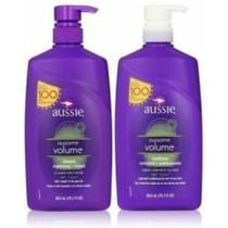 Kit-shampoo E Condic - 865ml-aussie Volume/ Smooth/ Ou Moist