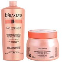 Shampoo 1 Litro Kérastase Fluidealiste + Máskeratine 500g