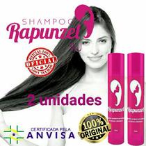 Kit C/ 2 Shampoos Rapunzel Que Faz Seu Cabelo Crescer