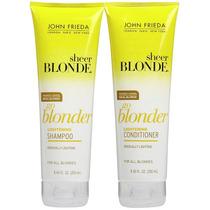 John Frieda Go Blonder Shampoo + Condicionador 250ml 100%ori