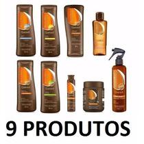 Bioextratus Queravit Cabelos Danificados Kit Completo 9 Iten