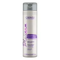Cadiveu Professional Platinum Matizador-shampoo 250ml Blz