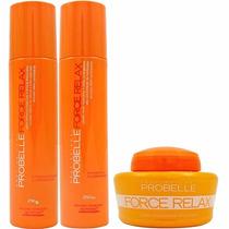 Probelle Kit Manutenção Force Relax - 3 Produtos