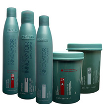 Itallian Hair Tech System Innovator Relaxer Kit Guanidina F.