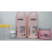 Kit Fração: Shampoo, Cond + Máscara Loreal Lumino Contrast