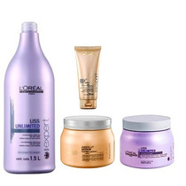 Loréal Absoult Repair Lipidium E Liss Unlimited - 4 Produtos