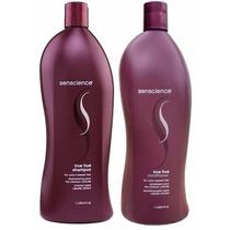 Kit Shampoo E Condicionador Senscience True Hue 1 Litro Cada