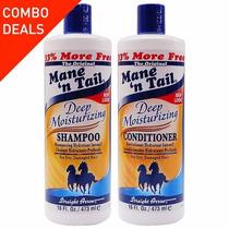 Shampoo Do Cavalo - Mane´n Tail Original Kit De 473 Ml