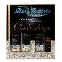 10 Und Kit Capilar Prof. Bio Instinto Óleo De Argan